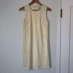 Ann Taylor LOFT Floral Lace Dress